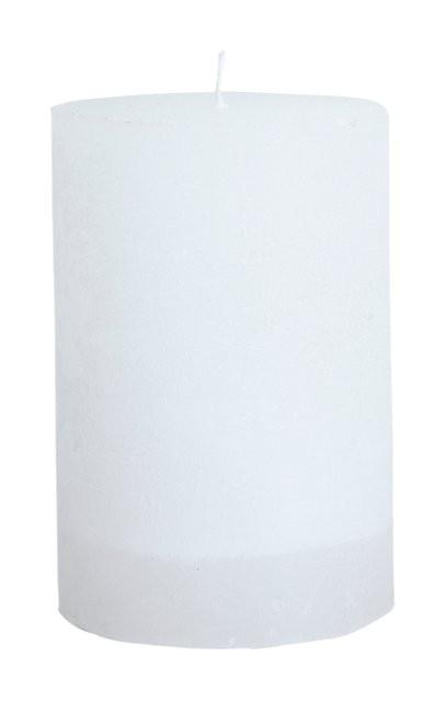 H x /Ø Bougies de Marque Made in Germany Bougies Wiedemann Bougies Pilier Blanc 15 x 6 cm 16 pi/èces Bougies Blanc